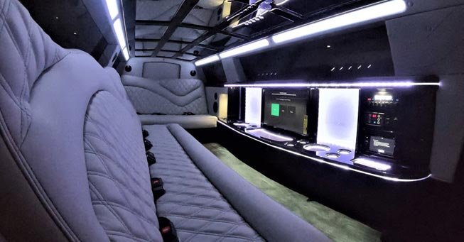 Chrysler 300 Limo Napa Interior