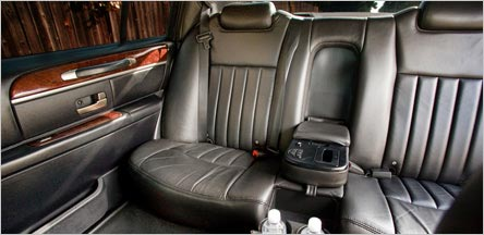 Lincoln Town Car Sedan Interior Napa