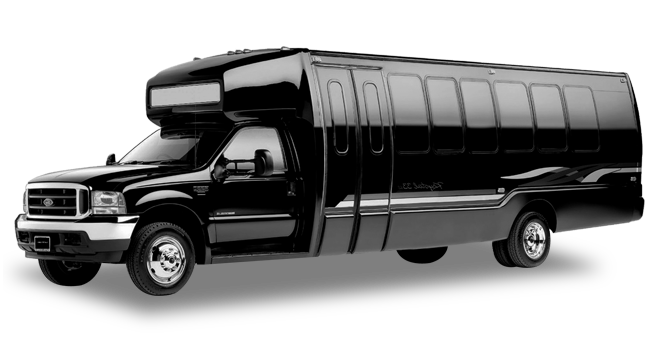 Napa 28 Passenger Party Bus Exterior