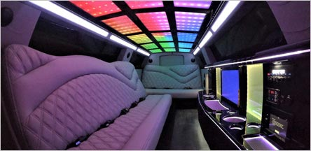 Napa Chrysler 300 C Limo Interior