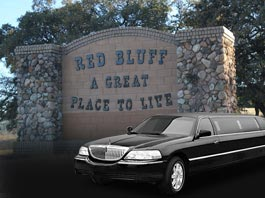 Napa Limo Service For Red Bluff