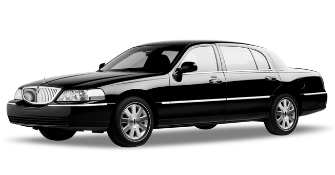 Napa Lincoln Town Car Exterior