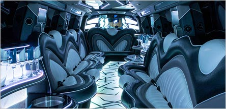 Napa Range Rover Stretch Limo Interior